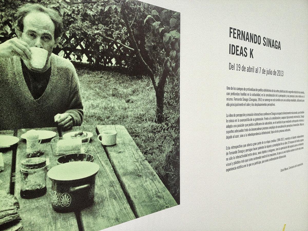 Fernando Sinaga - Ideas K - MACA