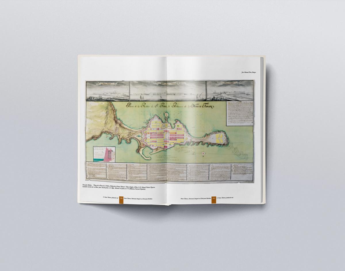 Interior libro de Nueva Tabarca