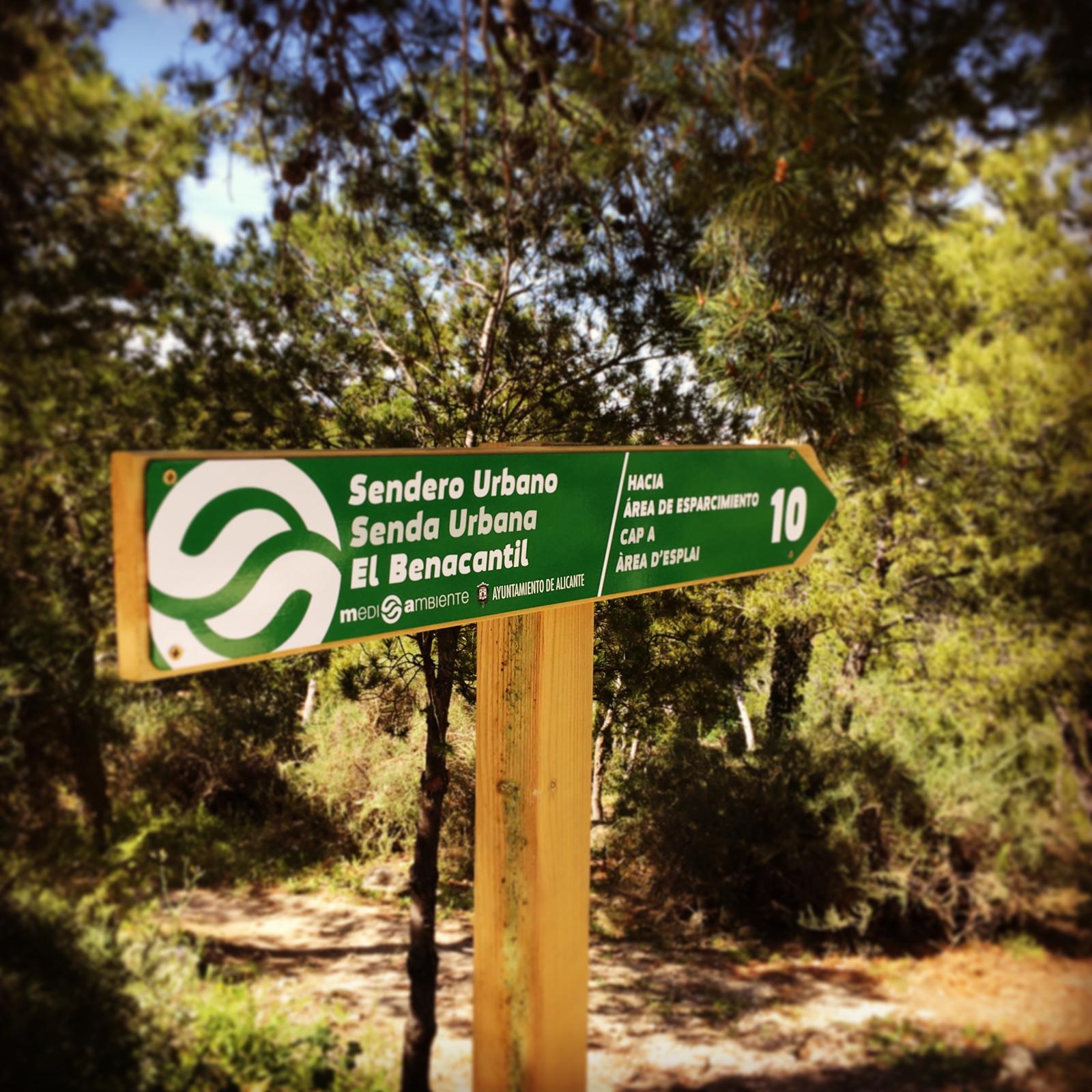 Señalética medio ambiental Sendero Urbano