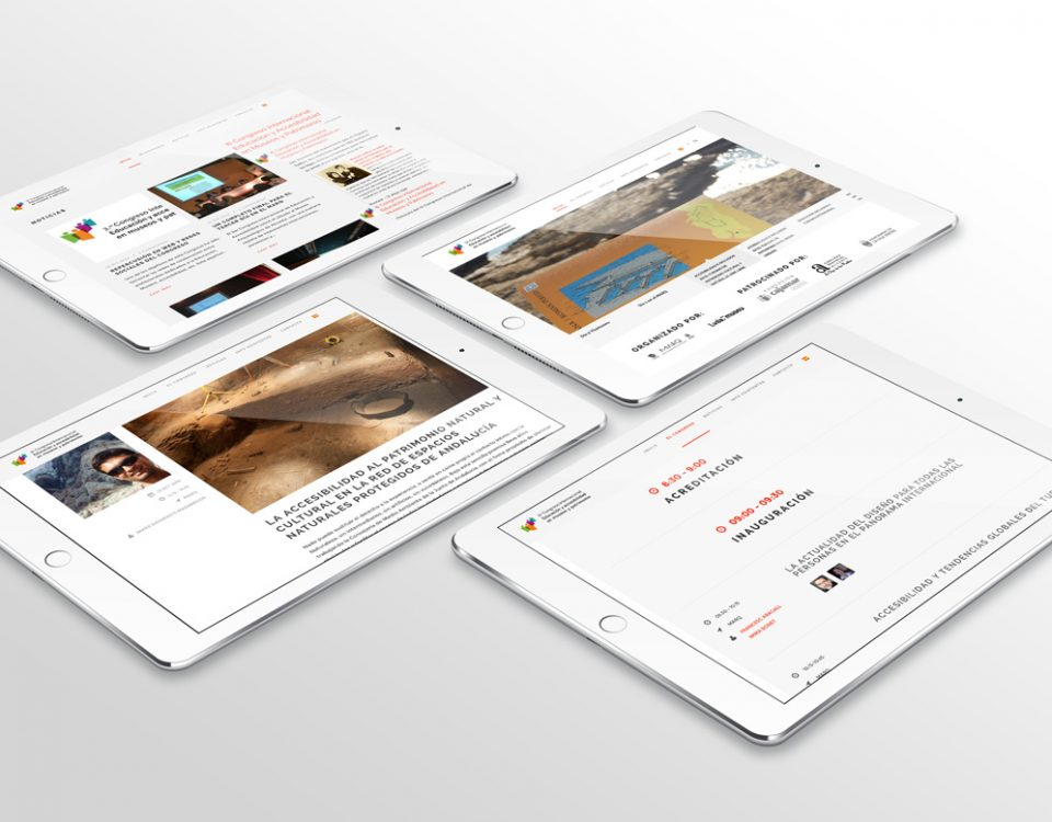 Web responsive Congreso Internacional de Accesibilidad en Museos