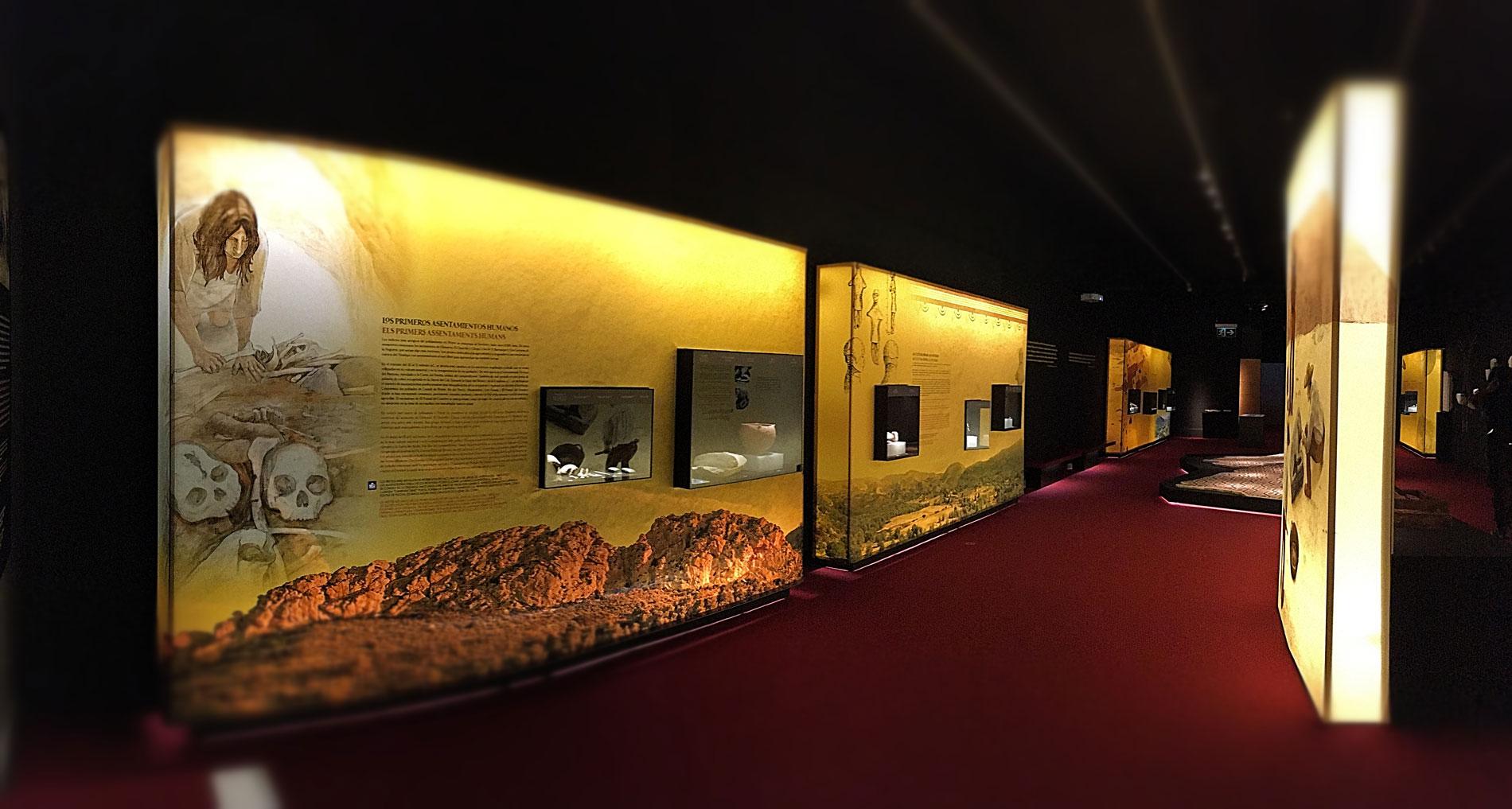 Diseño gráfica para Petrer, Arqueología i museu