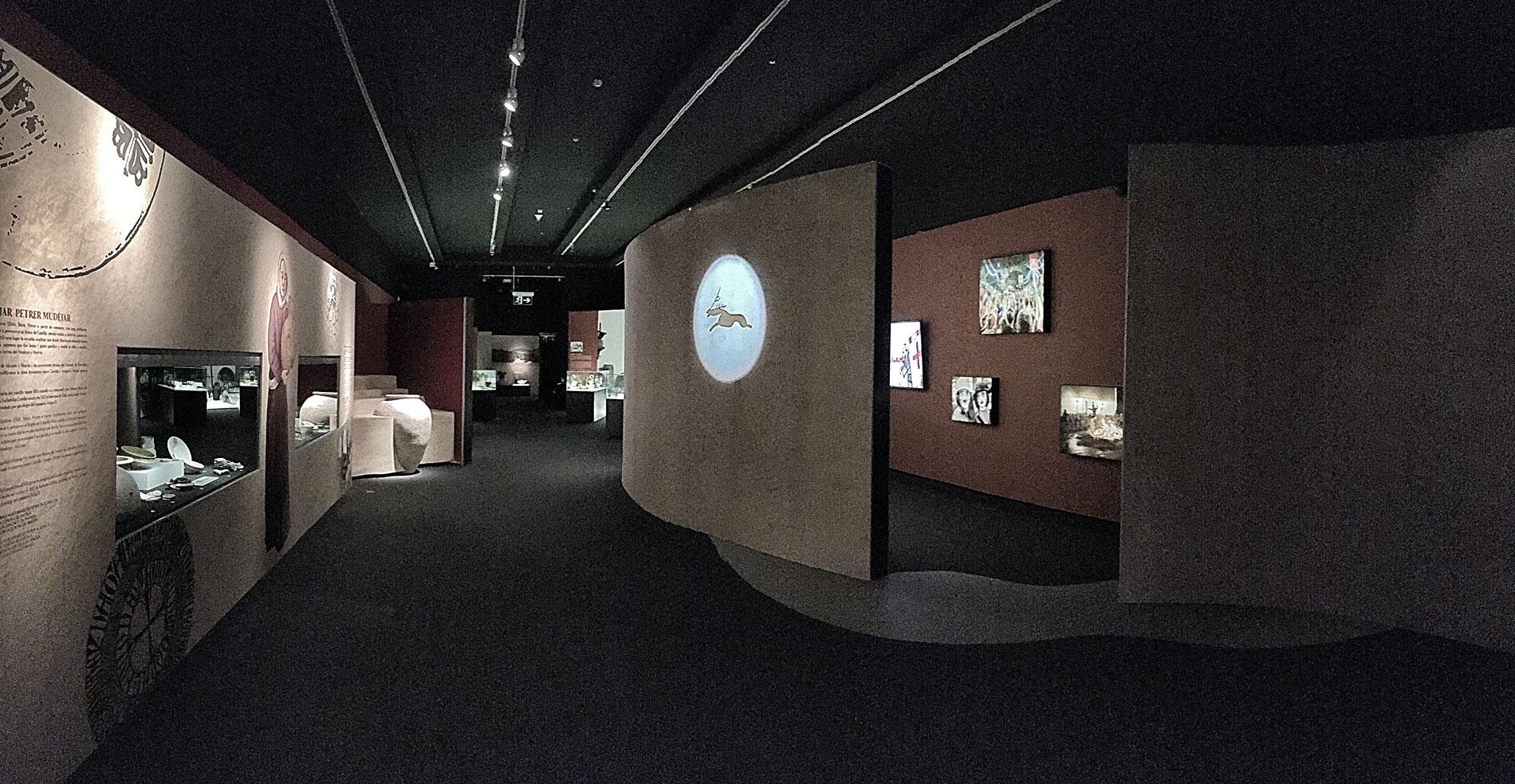 Sala 2 de la exposición de Petrer, arqueología y museo