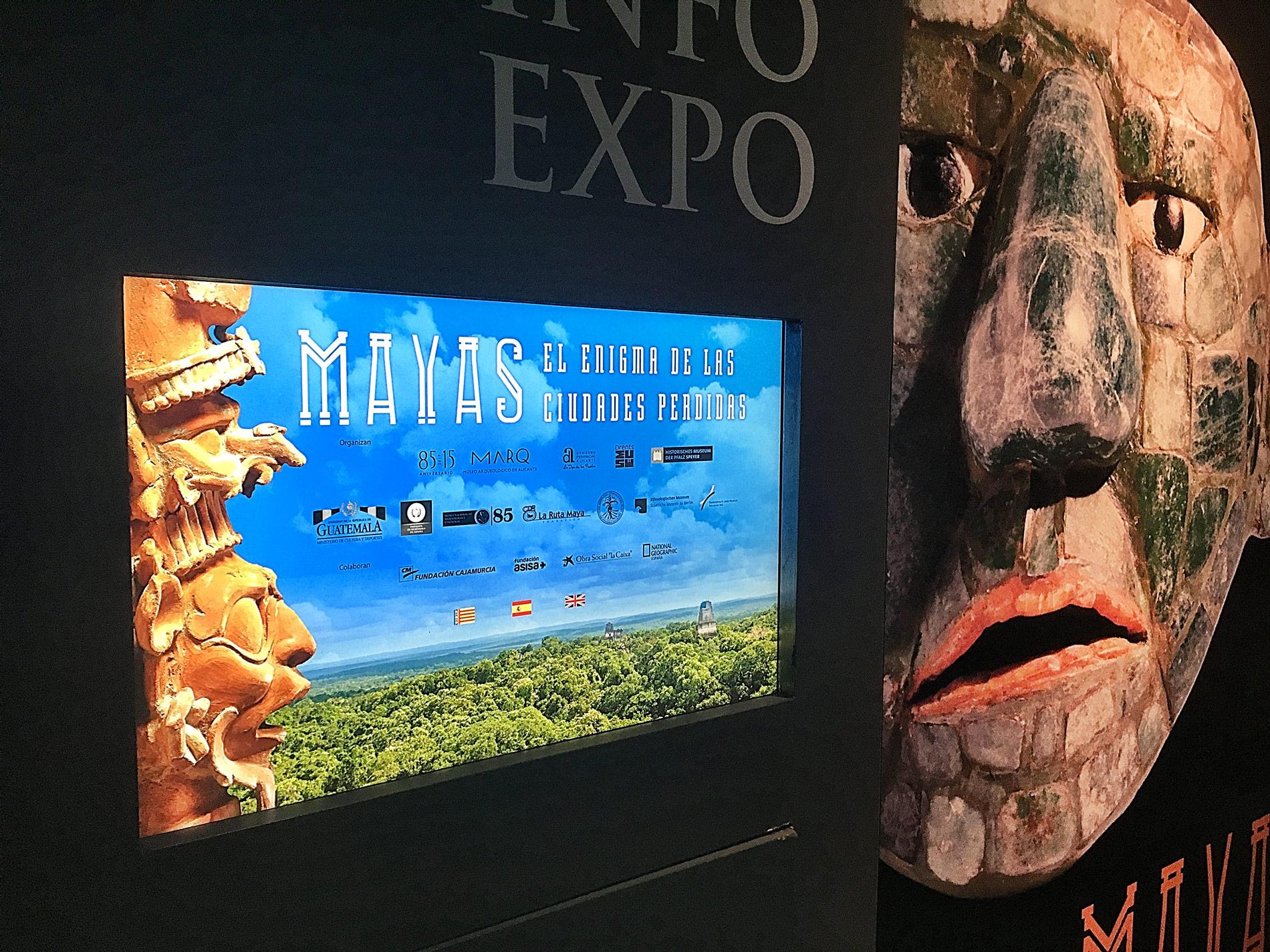 Interactivo para exposición Mayas en el MARQ