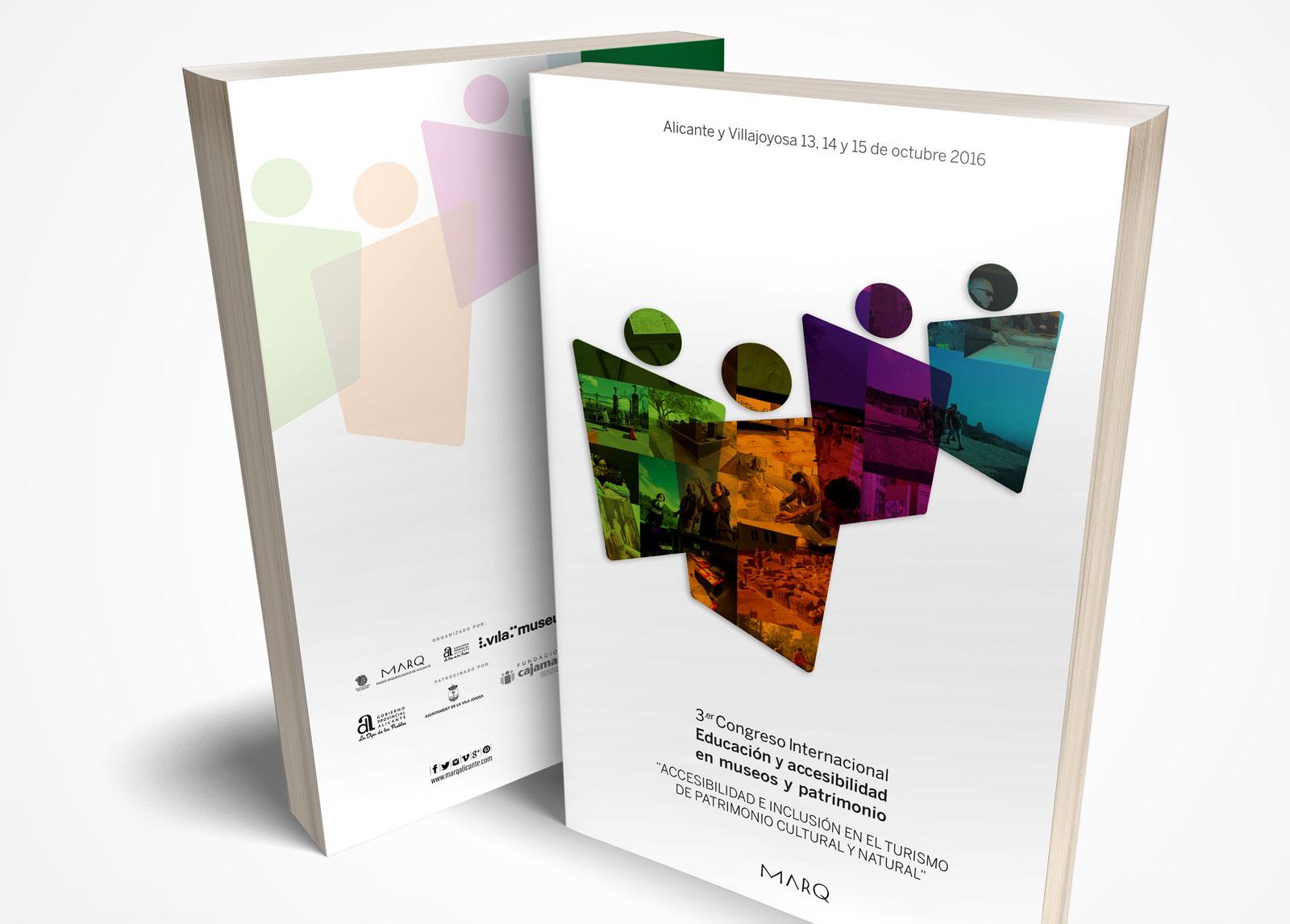 Diseño de libro del III Congreso de Accesibilidad